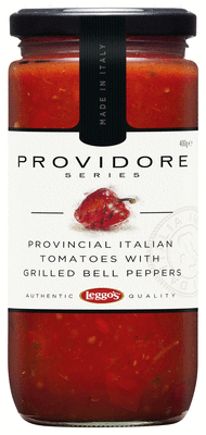 Provinicial italian tomatoes with grilled bell peppers.JPEG